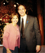 Edward Leigh with Katie Couric